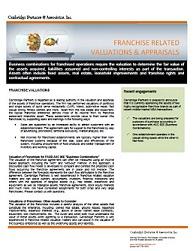 ASC 805 Fair Value Appraisals for SFAS 141, FAS 141, SFAS